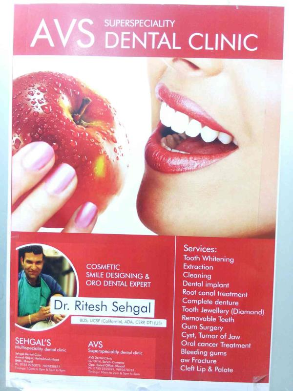We are expert in cosmetic smile designing & ORO dental in bhopal. - by AVS Dental Clinic, Bhopal