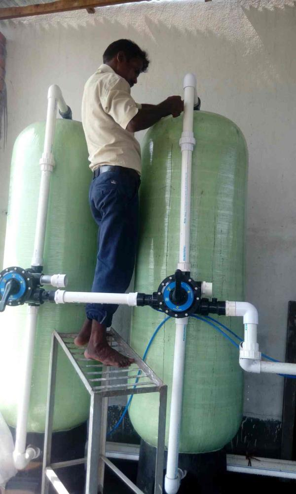 RO system  supplied under commissioning - by Enviro Research, Barrackpore