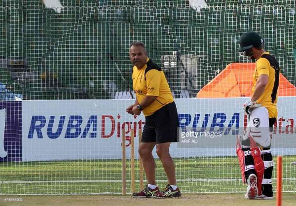 Trainer during practice session.  - by Guptas Sports, Patna