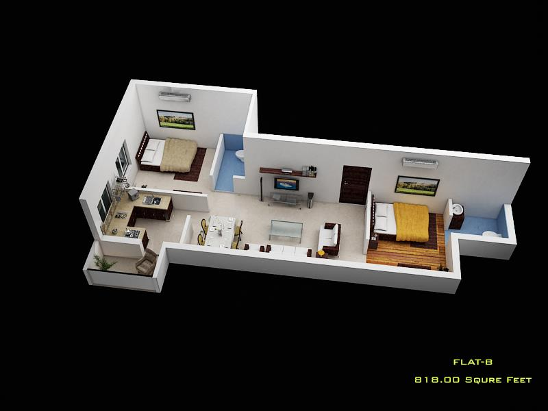 Ready to Move 2BHK Apartment in Ambattur  Pawan's Sunshine is one of the Residential developments of Pawan Caastles. It offers spacious 2 BHK Apartments of 818 Sq.ft at Affordable Price. The Project is well equipped with all the amenities t - by Sunshine Apartment, Chennai
