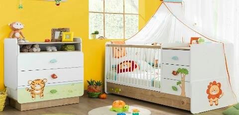 The Cilek baby beds provide a safe environment for your new born kids. it comes with the safety bar which can be removed as kids grow old. It follows all European Quality & Safety  Standards. - by KK Enterprise, Rajkot