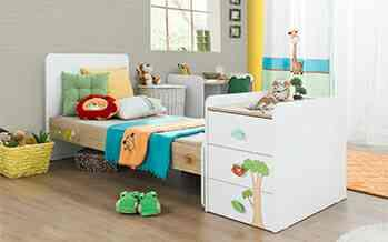 Once the kids grew up it can be converted to a regular bed like This. - by KK Enterprise, Rajkot