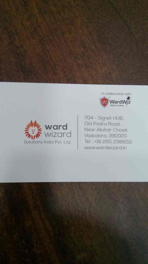 Protect your precious Data with WardWiz advanced features.   - by Ward Wizard, Vadodara