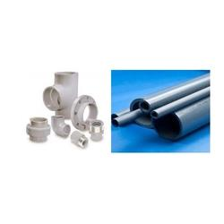 PVC Pipes & Fittings To meet the diverse requirements of clients, we are offering a qualitative array of PVC Pipe & Fittings. Offered range is precisely designed to handle hot, corrosive liquids at temperatures up to 100ºC. These PVC Pipe a - by Sagar Enterprises, Pune