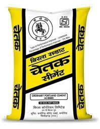 We are the authorised dealer of Birla Chetak cement in Ratlam madhyapradesh - by Shree Traders, Ratlam