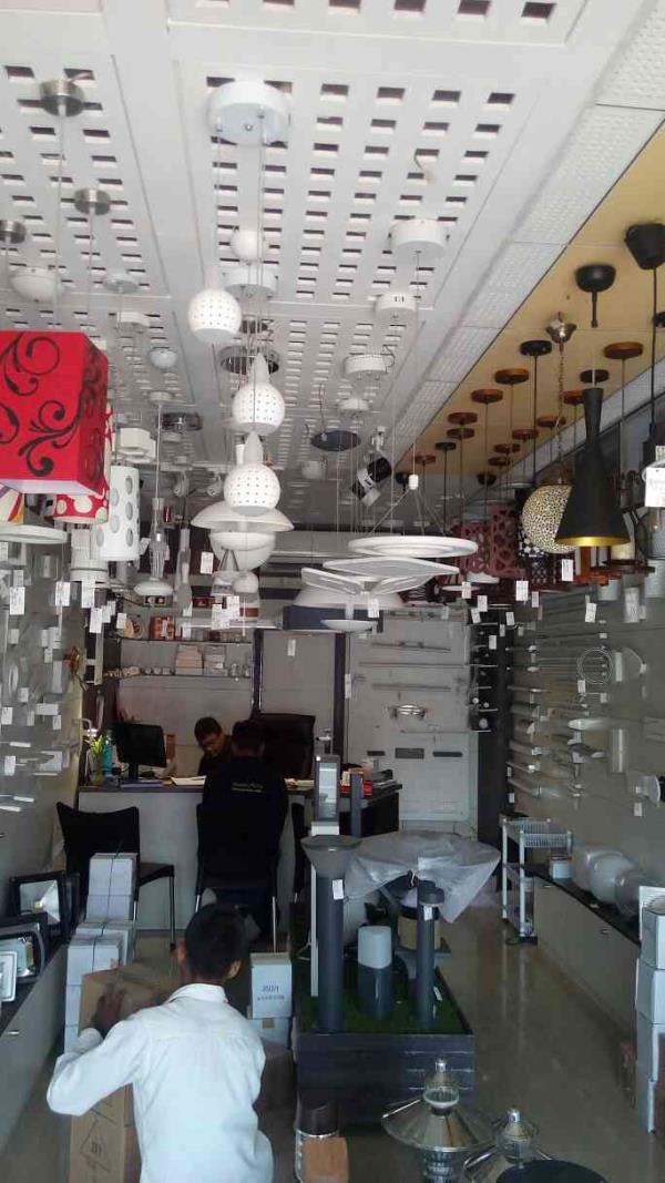we have wide range in led hanging lights in different shades n shapes as per customer requirement. - by Shree Light, Vadodara