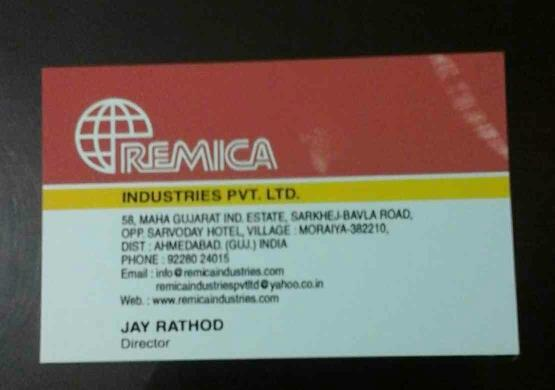 We are leading Manufacturers of Raw Materials for Paper Cups & Other Packaging Products. - by Remica Industries Pvt Ltd, Ahmedabad