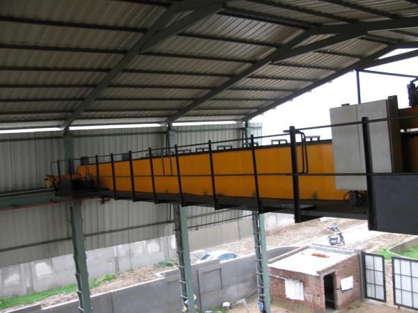 20ton capacity EOT Crane another snap. installed in ahmedabad - by MGTech, Ahmedabad