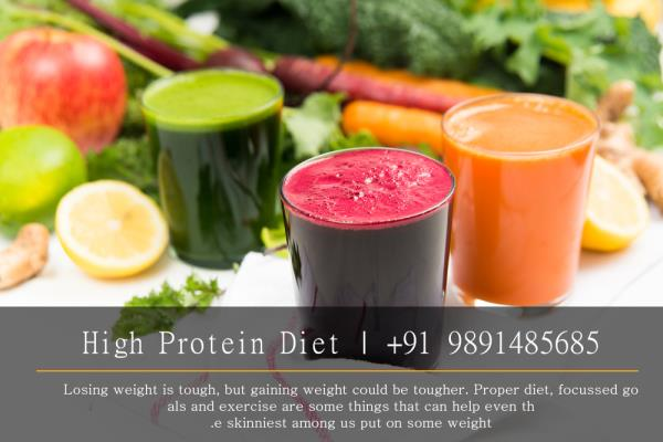 If you're naturally thin, then a proper weight gain diets becomes absolutely crucial in your endeavor to gain healthy lean muscle mass, probably far more so than your weight training program. Eating more calories than you consume is the key - by High protein diet | +91 9891485685, South West Delhi