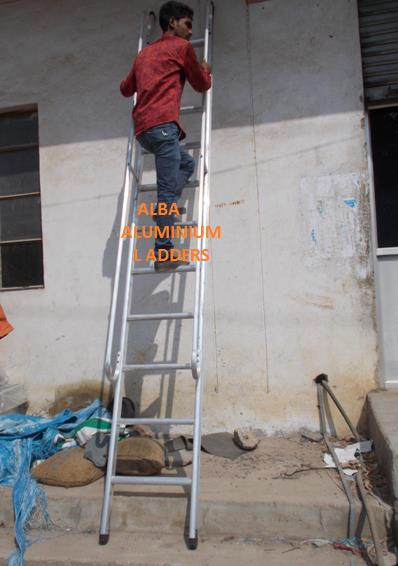 Alba has grown to be the most trusted name in ladders from its integrated  aluminum extrusion and ladder manufacturing facility in Hyderabad    Aluminum Ladders suppliers, in Hyderabad, Telangana, India  Aluminum Ladders dealers, in Hyderab - by Alba Aluminium Ladders, Hyderabad