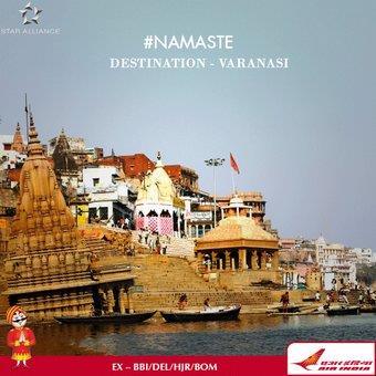 Now Air India too :-) - by Granny's Inn Varanasi   +91 9580-581-276   Best Homestay, varanasi