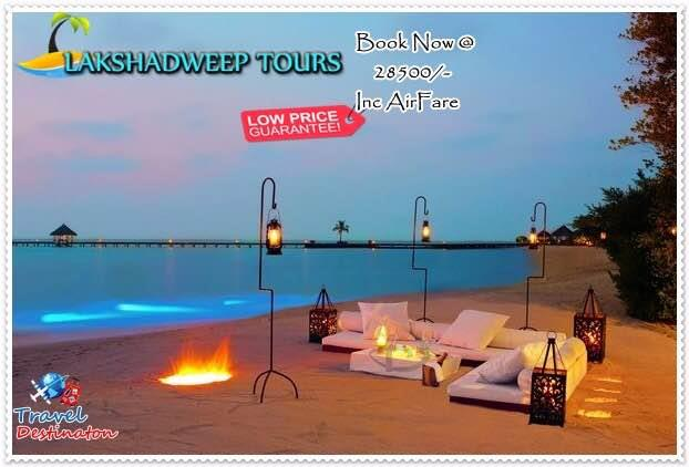 Introducing Lakshadweep Tour Package @28500₹/- only at #traveldestinaton Package Includes                               1.Flight fair COX-AGX-COX                       2.Inter Transfers at - by Travel Destinaton, Indore
