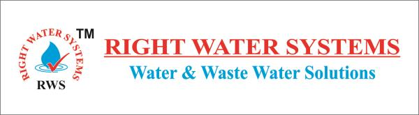 Logo - by Right Water Systems./RO Plant Manufacturer, Delhi