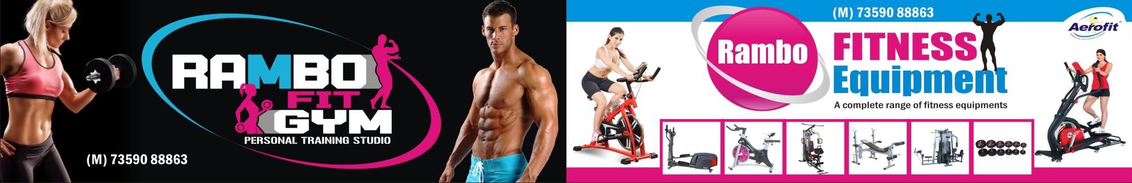 Rambo fitness Equipment is started its journey in 2007,  as a success Manufacturer,  Trader and Supplier of Gym Press Machines,  Gym Multi Purpose Benches, Gym Fitness Equipments,  Gym Accessories, Gym Equipment Stands, Gym Curlers,  Gym Fi - by Rambo Fitness Equipment , Ahmedabad
