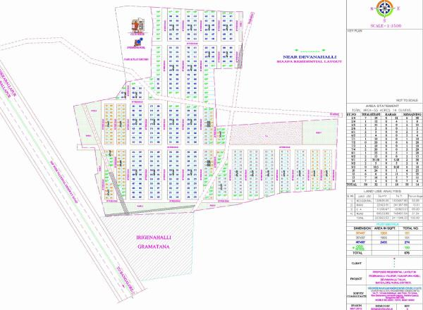 Residential plots for sale near international airport   220 Acres Biaapa Township Project  With World Class Amenities  - by City Best Properties, Bangalore Urban