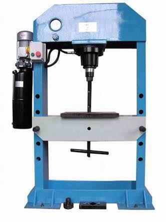 Hydraulic press machine manufacturing in Ahmedabad Gujarat India  - by Dhanraj Engineers, Ahmedabad