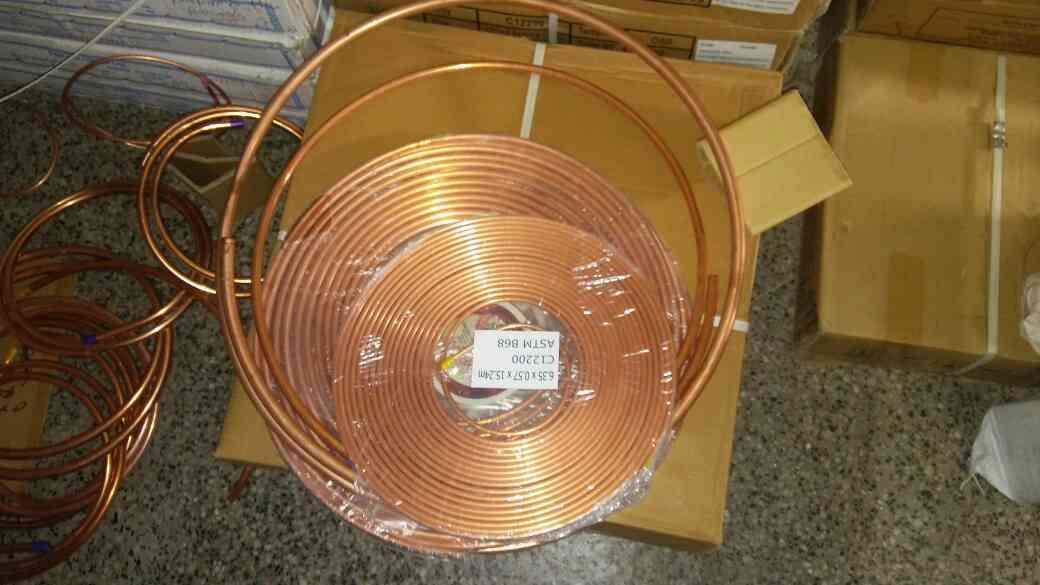 High Quality copper pipes dealer and supplier in vadodara. High Quality copper pipes dealer and supplier in bharuch. High Quality copper pipes dealer and supplier in anand. High Quality copper pipes dealer and supplier in Surat. - by Om Refrigeration, Vadodara