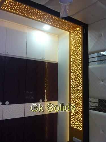 "Corian Acrylic Solid Surface Banking on the proficiency of the professionals in the domain, we present an excellent range of Acrylic Solid Surface for our clients. These solid surfaces are specifically manufactured in adherence with the cha - by ""G. K. Solids"", Ahmedabad"