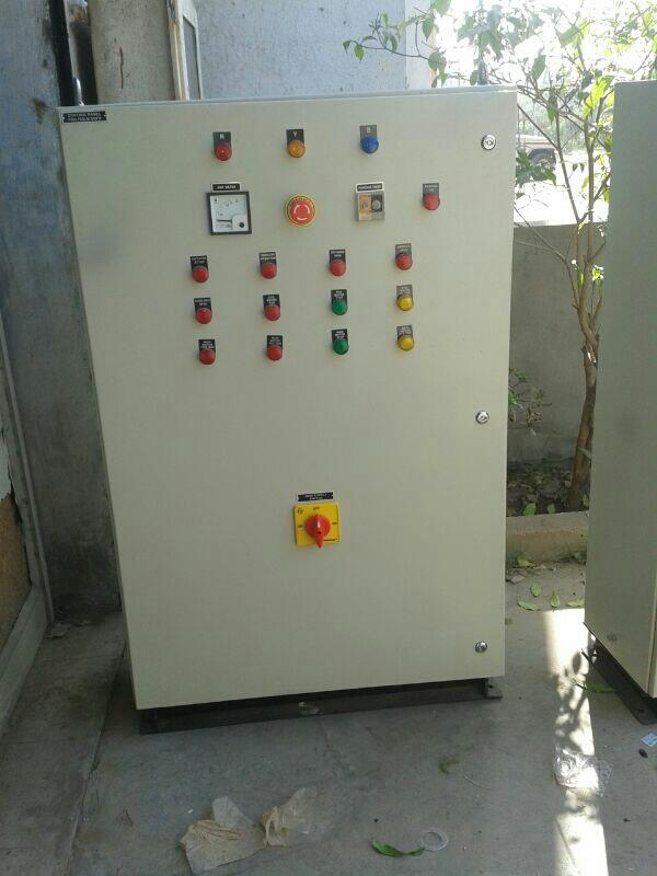 ELECTRICAL PANELS   MCC, PCC, APFC PANEL, AC DB, DC DB/METER PANELS  CONSTRUCTION– MS / SS 304TYPE– FIXED, NON DRAWOUTMOUNTING– WALL / FLOOR MOUNTINGPAIINTING– CHEMICAL TREATMENT AND POWDER COATING FOR MS PANELS. MAT OR MIRROR BUFFING  - by Purvax Engg, Ahmedabad