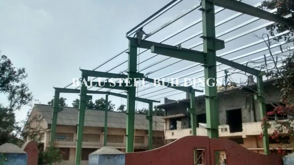 Pre Engineered In Coimbatore Pre Fab Structures In Coimbatore Multi Storey Steel Buildings In Coimbatore MS Fabrication In Coimbatore Space Frames In Coimbatore SS Fabrication In Coimbatore - by Balu Steel Buildings, Coimbatore