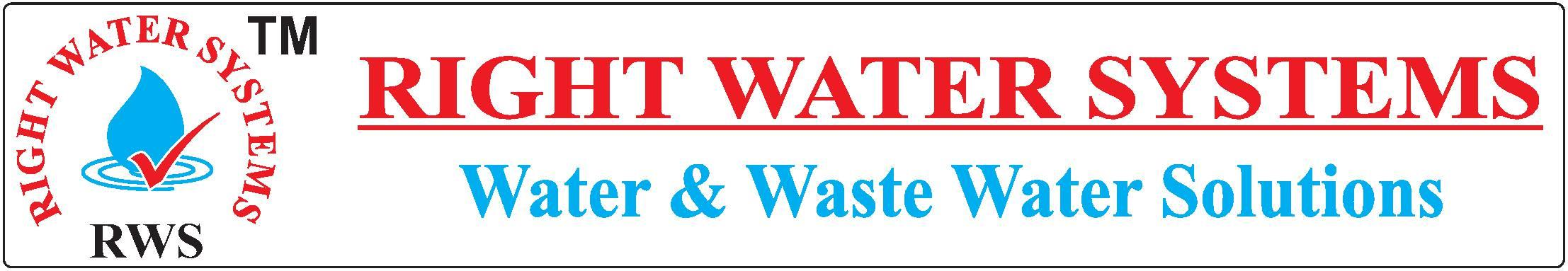 RWS Logo - by Right Water Systems./RO Plant Manufacturer, Delhi