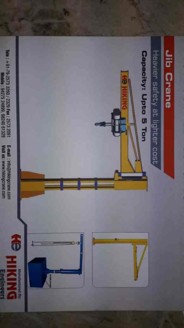 OUR JIB CRANE - by HIKING ENGINEERS, Ahmedabad