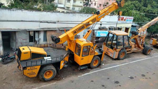f 15 crane rentel in bannerughatta road - by Jmj Crane Services, Bengaluru
