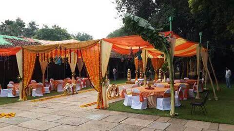 Wedding done in a resort bangalore. The whole event arrangements were done by us. - by Pai Caterers, Bangalore