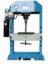 Manufacturer of Hydraulic press Phadia machines   hydraulic press machine  hydralic press brake  - by Krishna Enterprise 1, Ahmedabad