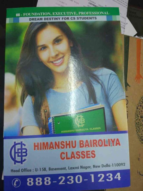 hello - by Himanshu Bairoliya Classes, Delhi