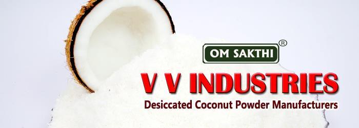 www.desiccatedcoconutpowder.com - by Vv Industries, Coimbatore