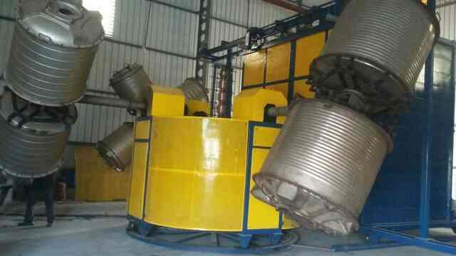 manufacture of rotomolding mqchine in gujtat. - by Ambica Eng Ahd, Ahmedabad