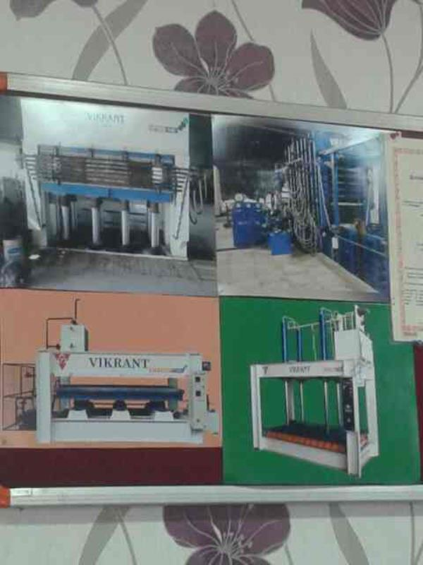 we aee leding supplier of ply wood machine in gujrat. - by Vinod Fabricators, Ahmedabad