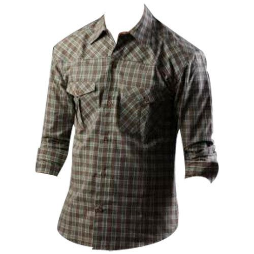 We The Leading Manufacturers And Suppliers Of Casual Cotton Shirt In Coimbatore, Tamil Nadu,  Casual Cotton Shirt In Coimbatore  Traders Of Casual Cotton Shirt In Coimbatore Tamil Nadu , Kerala, Karnataka  - by GVD TEXTILES P.LTD, Coimbatore