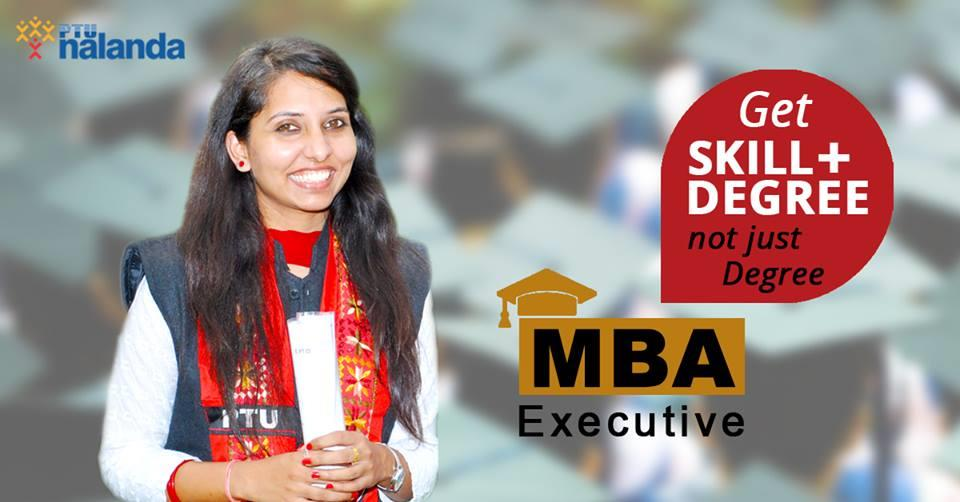 Part-Time MBA  In today's revolutionary rate of technological advancement and intense global competition, working professionals need to constantly upgrade their educational qualifications and skills. Striking a balance between work, family  - by PTU Nalanda School of TQM & Entrepreneurship, Mohali