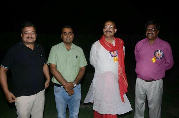 Director of sanskriti public School Dr.Sanjiv kr.and Director of Ace public School PK Mishra with me at SPS campus during Got Affiliation ceremony. - by Jawahar International School, East Champaran