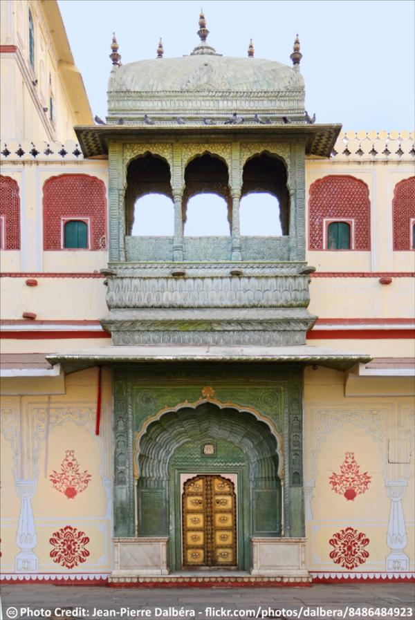 Delhi to Jaipur One Day Sightseeing Tour Packages by Car  Another Exquisite Door in Pitam Niwas Chowk in Jaipur City Palace.  Book Delhi to Jaipur One Day Sightseeing Tour Packages by Car http://www.taxiguide.in/TourPackages/Delhi-Jaipur-To - by taxiGUIDE.in Delhi, New Delhi