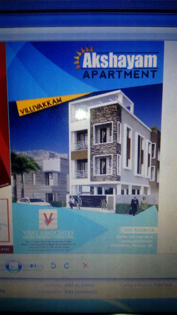 2Bhk Flat in Villivakkam.. compact and Best Flats Available for sale. - by Vijay Associates& Builders, Chennai