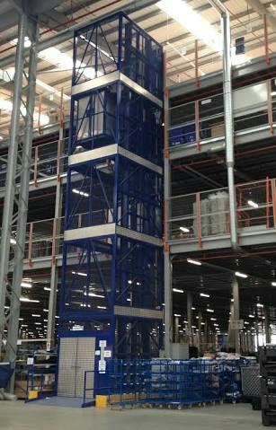 Goods lift manufacturers in Chennai - by Atlas-Crane Pvt Ltd, Chennai