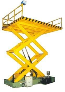 Hydraulic lifts manufacturers in Chennai - by Atlas-Crane Pvt Ltd, Chennai