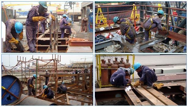 Shiprepair & Conversion. Equipment & Spare Part Supply - by Urmila Engineering Works | Ship Spare Parts| Ship Repairs| Vizag, Visakhapatnam