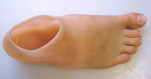 We are a leading manufacturer of Artificial silicone foot prosthesis in Vadodara, Gujarat. - by The Silicone Rehab, Vadodara