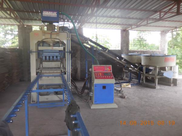 We are best manufacturer of Fly ash bricks machine in morbi with using of best quality of raw material. - by Nirbhay Hydraulic & Eng. Works, Gujarat