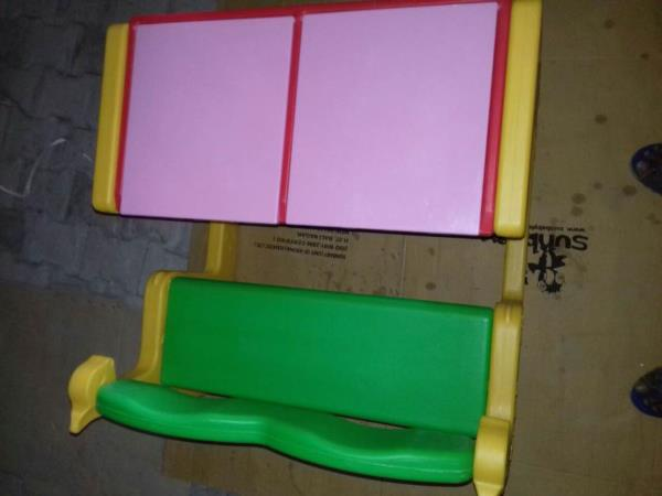 Kids dual table made in Chaina - by Kraftechofficesystems, Hyderabad
