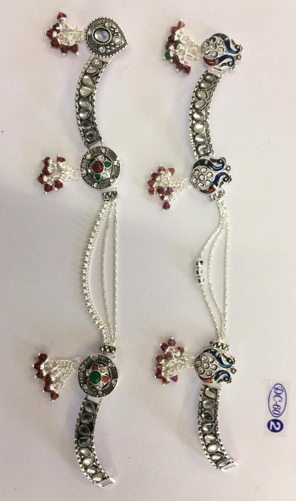 We are best manufacturer, exporter and suppliers of Silver Anklet in Rajkot with having superior design. - by Dashrath Silver Art, Rajkot