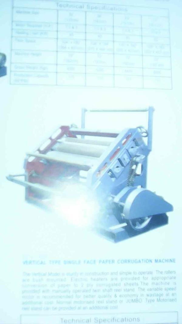 Paper corrugation machine manufacturer - by B.R.D Manufacturing, Kolkata