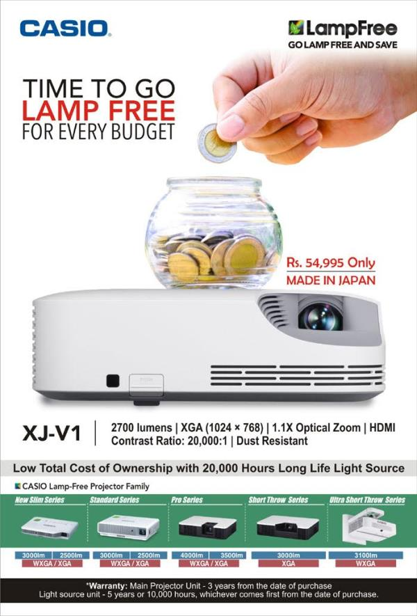casio led projector  - by CheX Audio Video Solution Pvt. Ltd., Ahmedabad