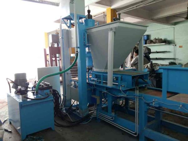 Leading manufacturer and supplier of fly ash brick making machine in morbi  - by RACHANA HYDRAULIC AND ENGINEERING, Behind 7 Lati Plot, Moon Nagar Chowk, Morbi