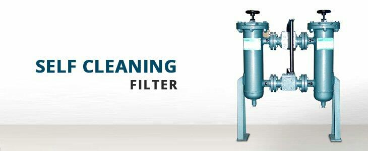 we are leading manufacturer of self cleaning filter in Ahmedabad  - by Flair Strainer and Filter, Ahmedabad