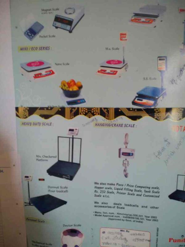 analytical and gold series weighing scale in ahmedabad - by Punit Instruments, Ahmedabad
